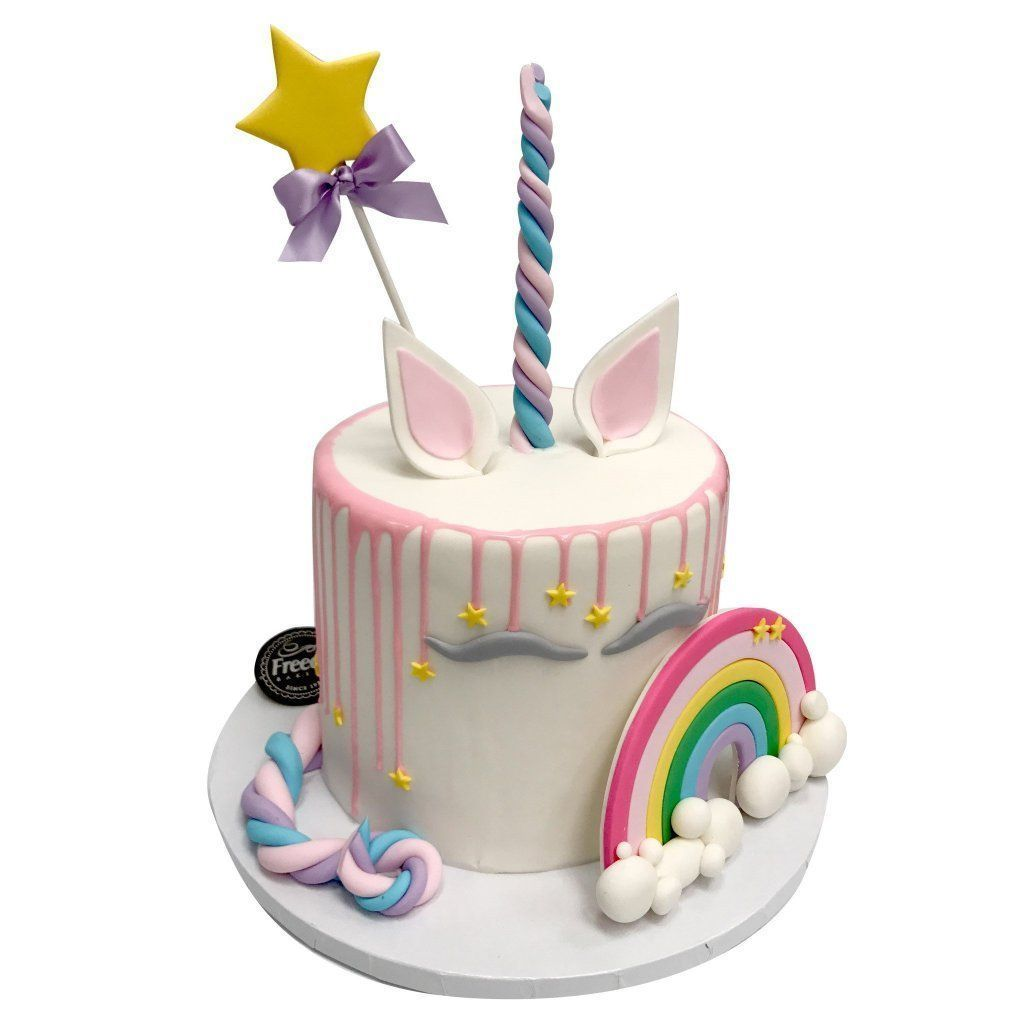 Magically Unicorn Theme Cake Freed's Bakery