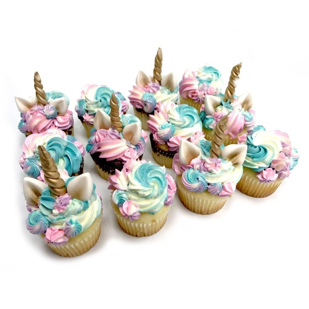 Pastel Unicorn Cupcake Theme Cake Freed's Bakery
