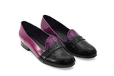 CHIARA PATENT LEATHER OMBRE