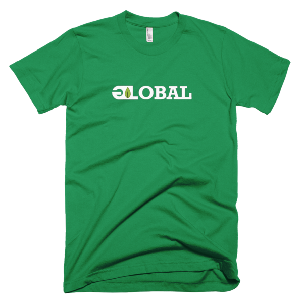 GL GLOBAL tee (white)