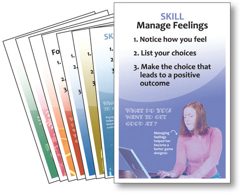 We Have Choices!  Additional set of 8 skill posters