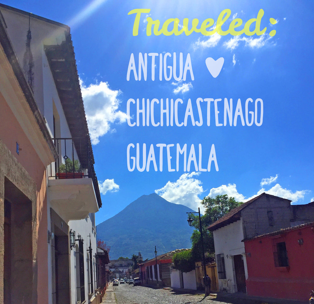 Sunshine Tienda Travels:  Antigua and the Chi Chi Market