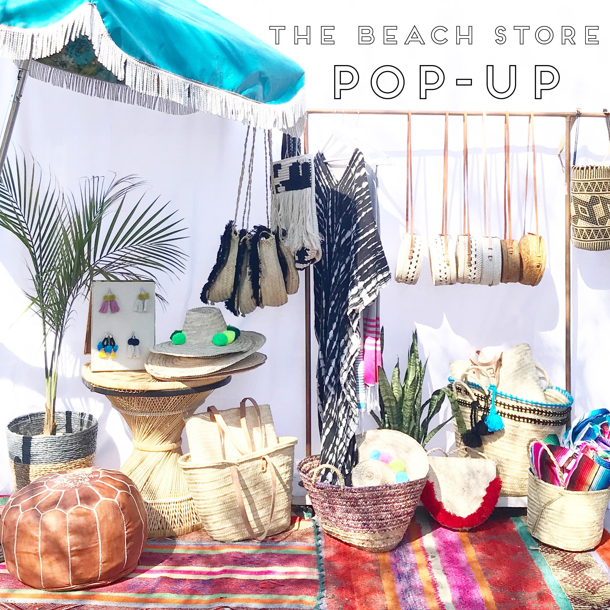Sunshine Tienda's Beach Pop Up Shop