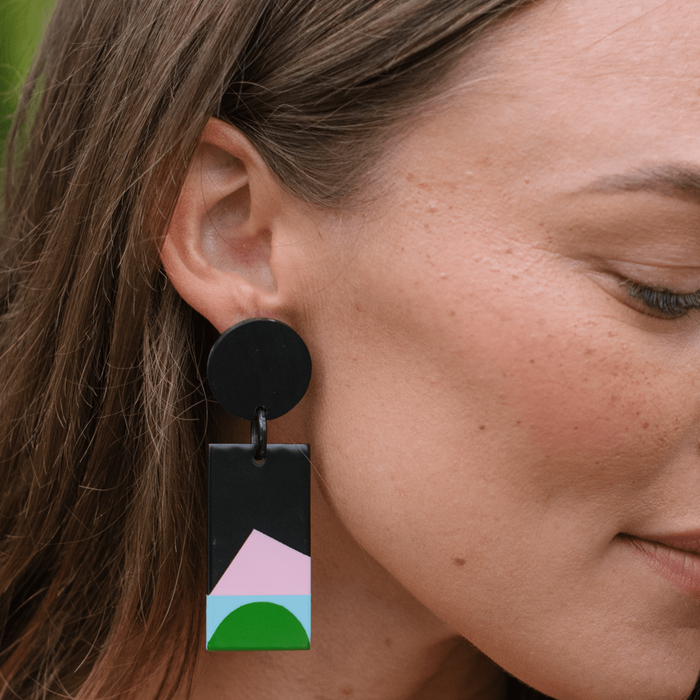 Sunshine Tienda Neon Moon Cabana Earrings