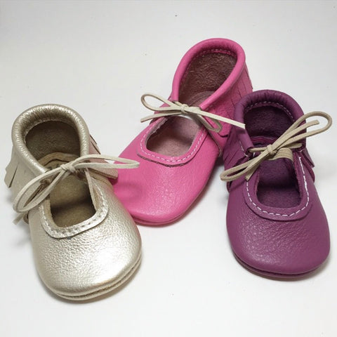 girls, sandals, leather, handmade, Mary Janes, soft sole, bows, hard sole