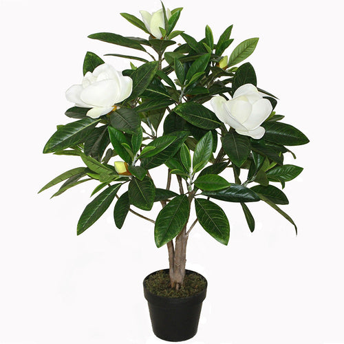 NEW Potted Artificial Faux Magnolia  Indoor & Outdoor