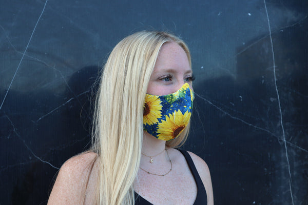 Sunflower Face Mask & Face Covering