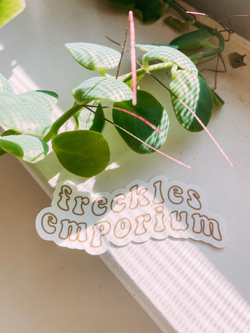 Freckles Emporium Sticker