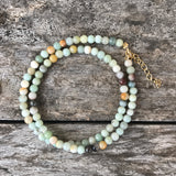 Amazonite Teensy Wrap