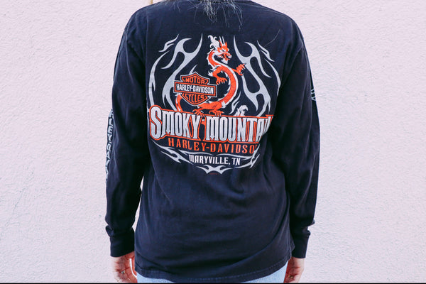 Smokey Mountain Harley Davidson Long Sleeve