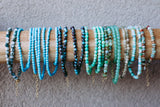 Bright Blue Turquoise Teensy Wrap