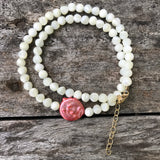 Button Pearl Teensy Wrap