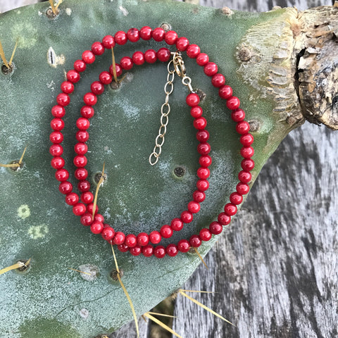 Coral Red Teensy Wrap