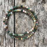 Fancy Jasper Teensy Wrap