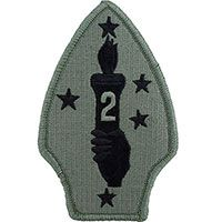2nd Marine Division ACU Patch