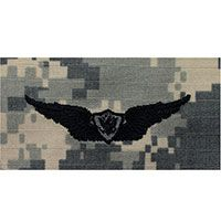 Army Aviation (Aircraft Crewman) Embroidered ACU Badges