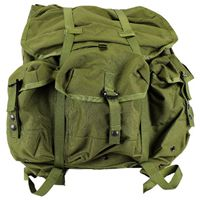 Army Government Issue Type Large Size Alice Pack with Frame - Olive Drab