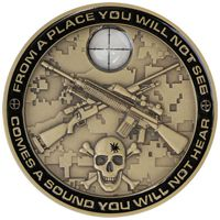 Sniper Crosshairs Coin
