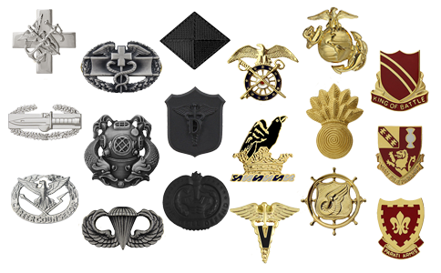 Military Badge Collection