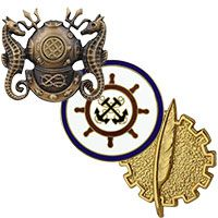 View All Navy Badges