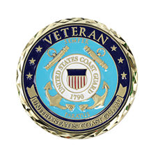 U.S. Coast Guard Veteran Coin