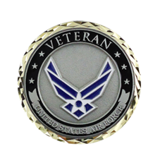 U.S. Air Force Veteran Coin