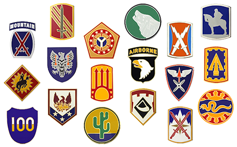 Combat Service Identification Badges