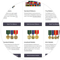 Build Your Military Medals Rack