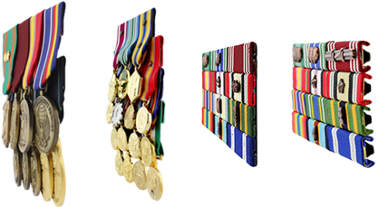 Military Ribbon Collage