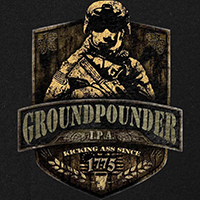 Army Groundpounder IPA Label T-Shirt