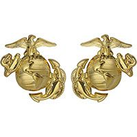 Marine Corps Globe-and-Anchor Collar Device