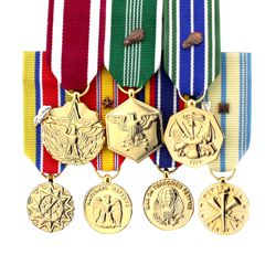 Miniature Anodized Medals