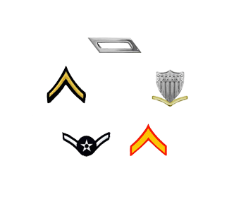 Shop by Military Rank
