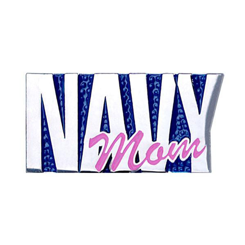 Navy Mom 1 inch Lapel Pin