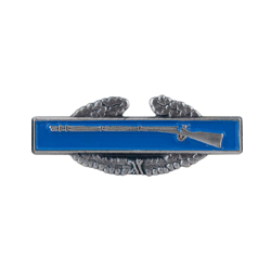 "Combat Infantry Badge 1 1/4"" Lapel Pin"
