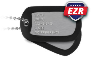 The Military Dog Tag Builder