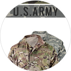 Army combat uniform builder