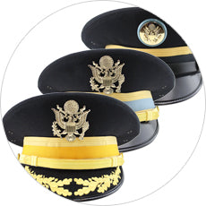 Army service uniform cap builder