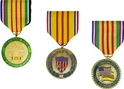 Vietnam Commermorative Medals