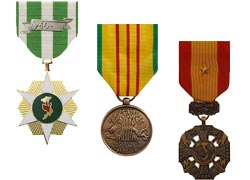 Vietnam Military Medals