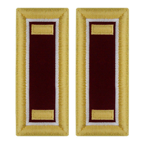 Army Female Shoulder Boards - Medical and Veterinary