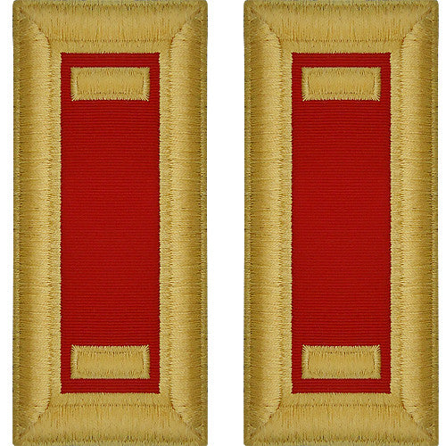 Army Male Shoulder Boards - Artillery