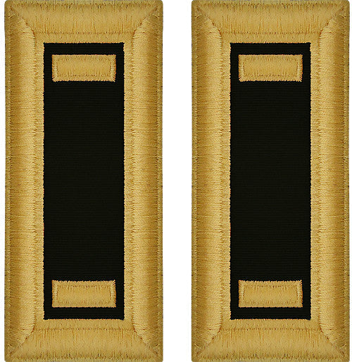 Army Male Shoulder Boards - Chaplain