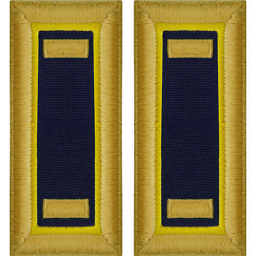 Army Male Shoulder Boards - Chemical