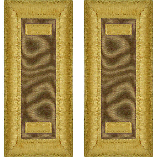 Army Male Shoulder Boards - Quartermaster