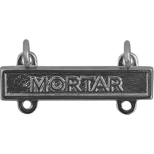 Mortar Bar - Nickel Finish