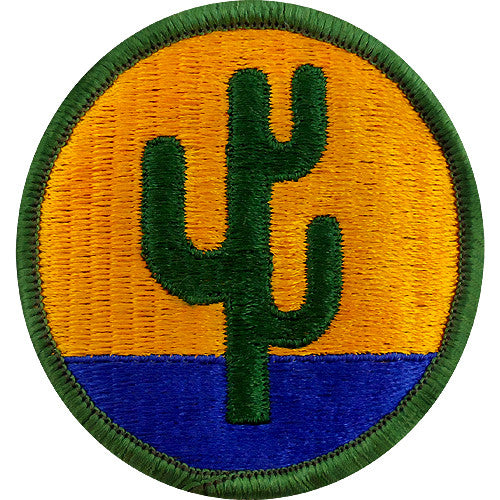 103rd Infantry Division Class A Patch