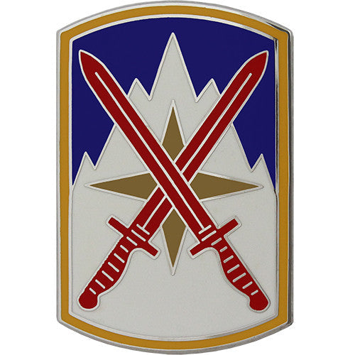 10th Sustainment Brigade Combat Service Identification Badge