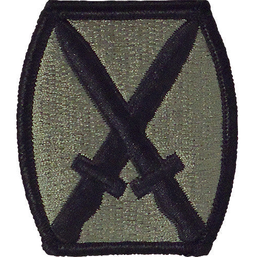 10th Mountain Division ACU Patch