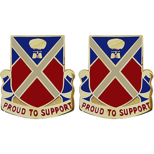 10th Brigade Support Battalion Unit Crest (Proud to Support)